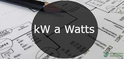 kw a watts-min