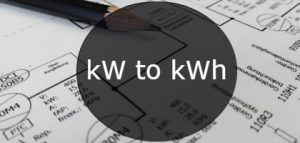 kw to kwh-min
