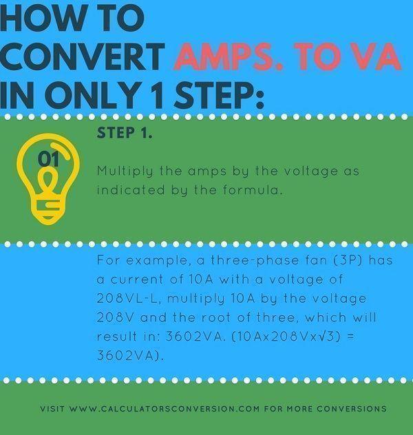 amp. to va