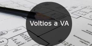 Calculadora Voltios a VA