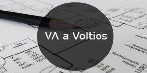 VA a Voltios