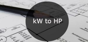 kW to HP