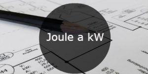 joule a kW