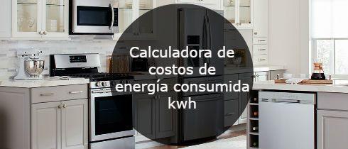 Calculadora de costos de energía consumida